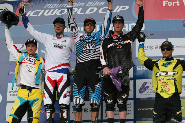 2010 Downhill Mountain Biking Champions at Nevis Range